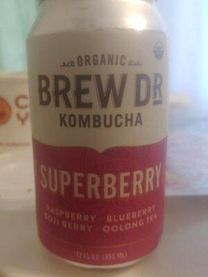 Kombucha superberry - Product - en