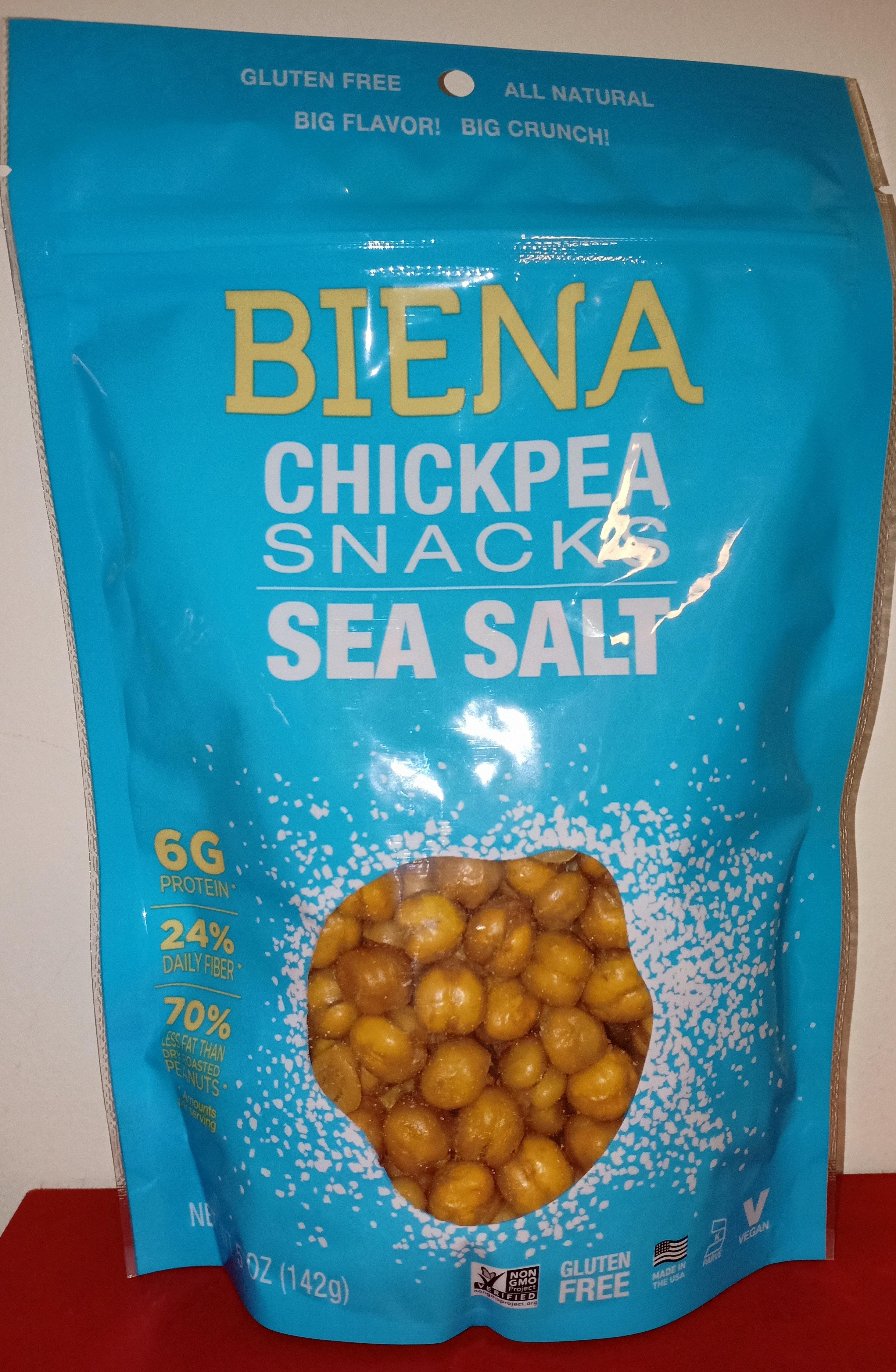 Chickpea snacks - Product - en