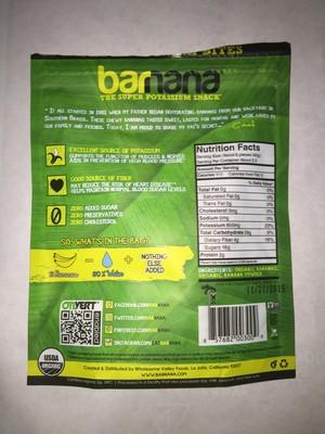 Organic original chewy banana bites - 2