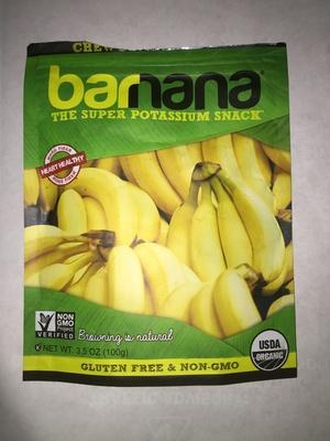 Organic original chewy banana bites - Product - en