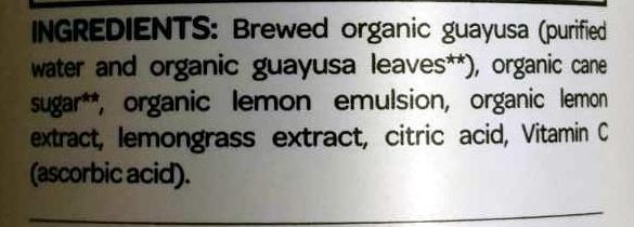lemon lemongrass - Ingrédients - en