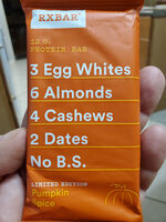 Pumpkin Spice Protein Bar - Product - en