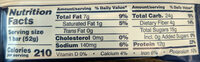 Protein Bar - Blueberry - Nutrition facts - en