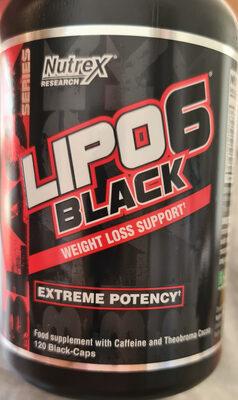 lipo 6 black - Produit