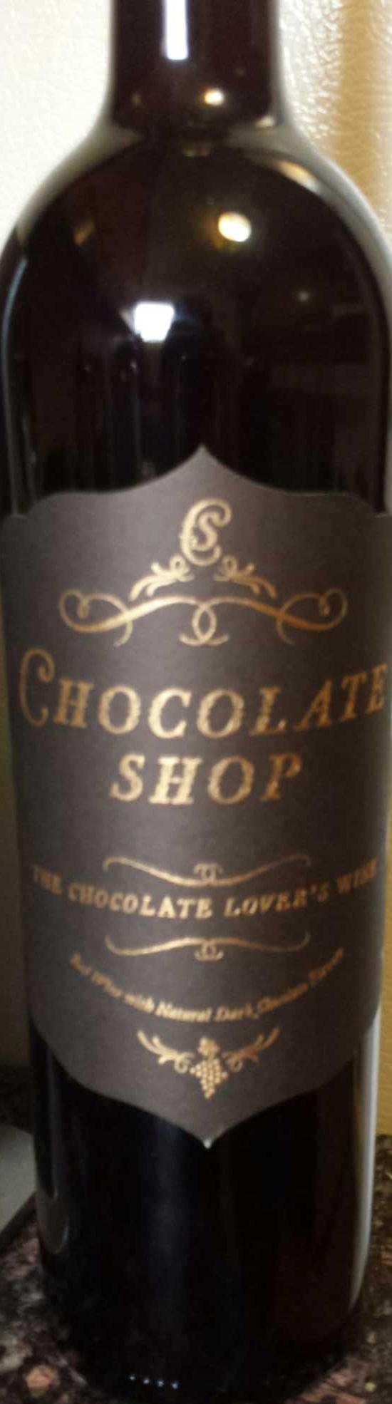 Chocolate shop wine - 750 ml