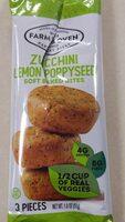 Zucchini lemon poppyseed soft bakes bites - Product - en