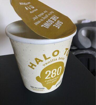 Halo Top Vanilla Bean - Product