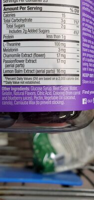 Energy protein smoothie mix - Ingredients - en