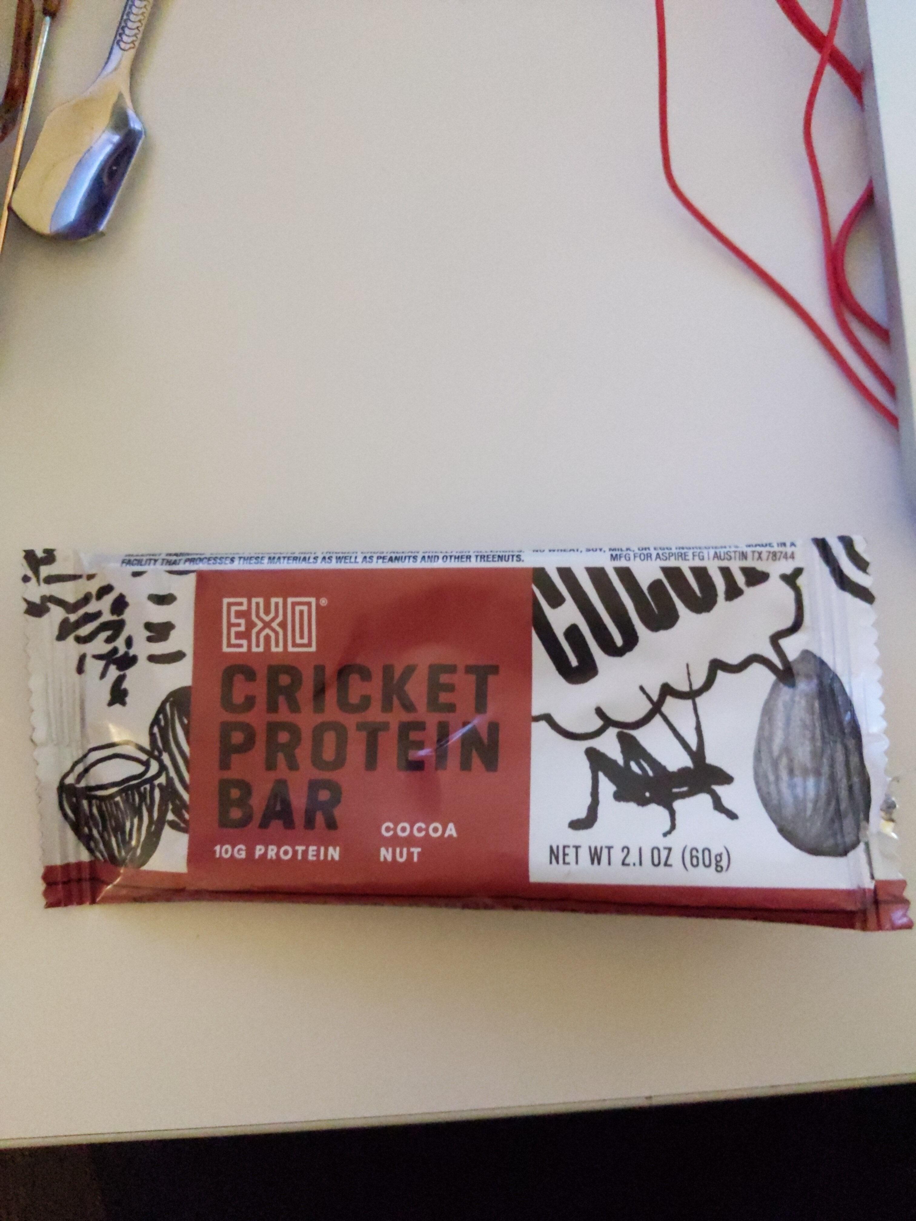 EXO Cricket Protein Bar Cocoa Nut - Product - en