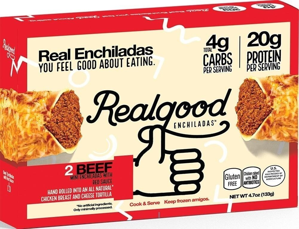 Beef enchiladas - Product - en