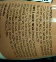 Soylent Cacao - Ingredients