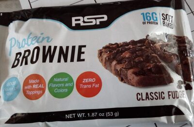 Brownie Protéiné Caramel - Product