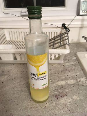 Jus de citron pressé - Product - fr