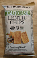 Tomato Basil Lentil Chips - Product