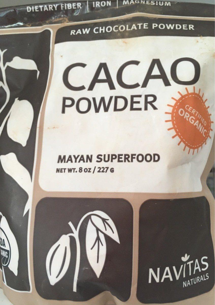 Organic cacao powder - Produit - fr