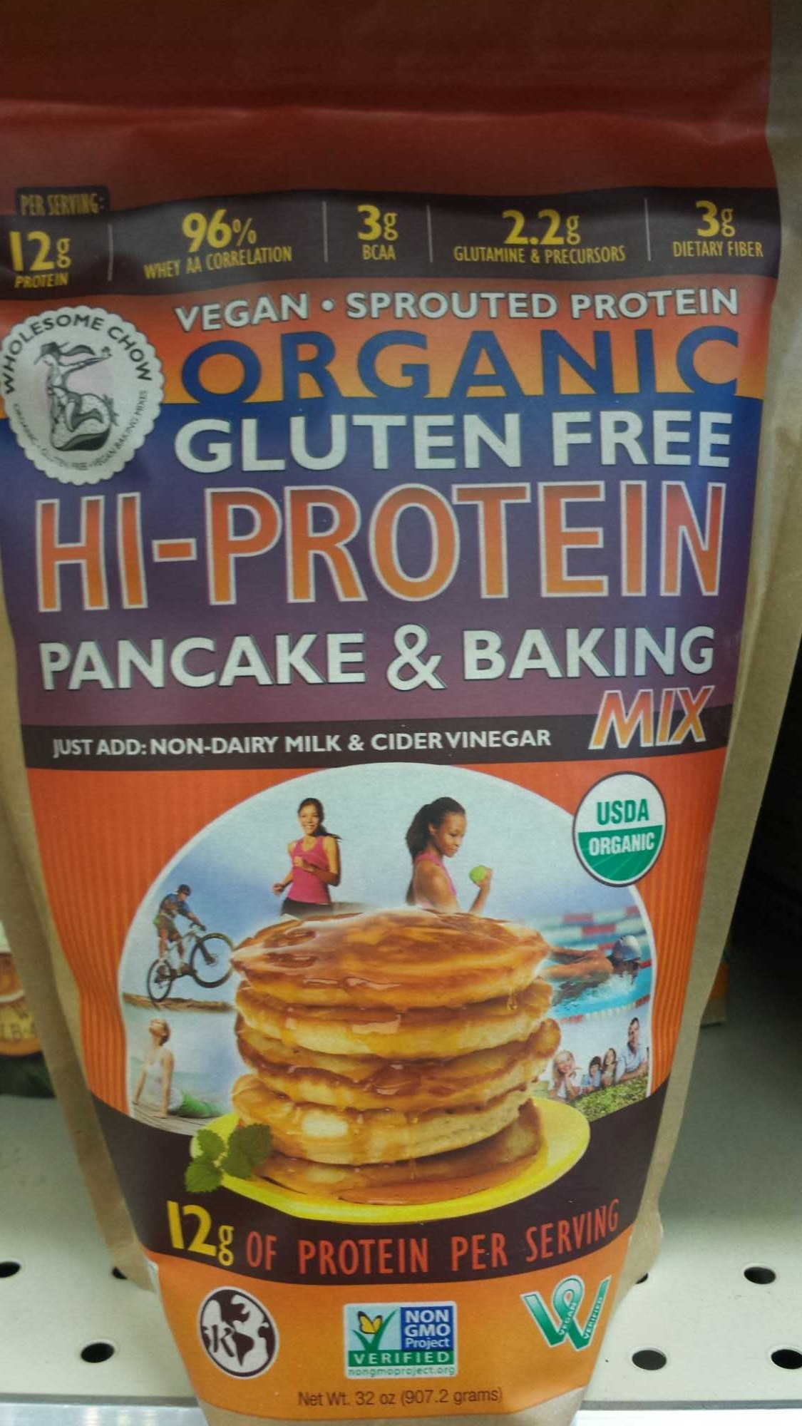 Hi - protein Pancake & Baking Mix - Product - en