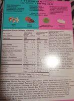 Barre protéinée d'origine végétale - Informations nutritionnelles - fr