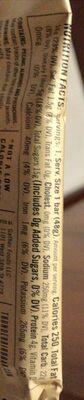 Pecan goji pistachio - Giá trị dinh dưỡng - fr