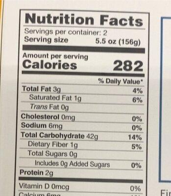 Pad Thai rice noodles - Voedingswaarden - en
