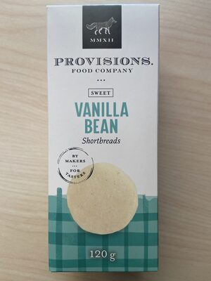 Vanilla Bean Shortbreads | Sablés au Gousse de Vanille - Prodotto - en