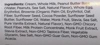 peanut butter cup - Ingredients - en