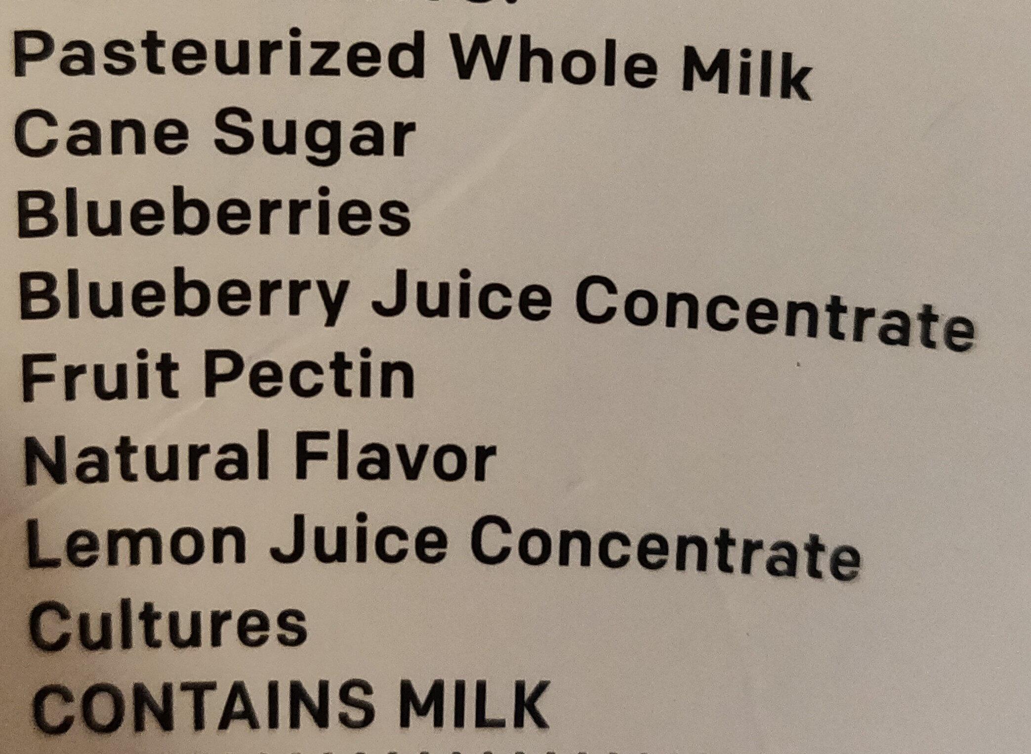Grass Fed Quark - Ingredients