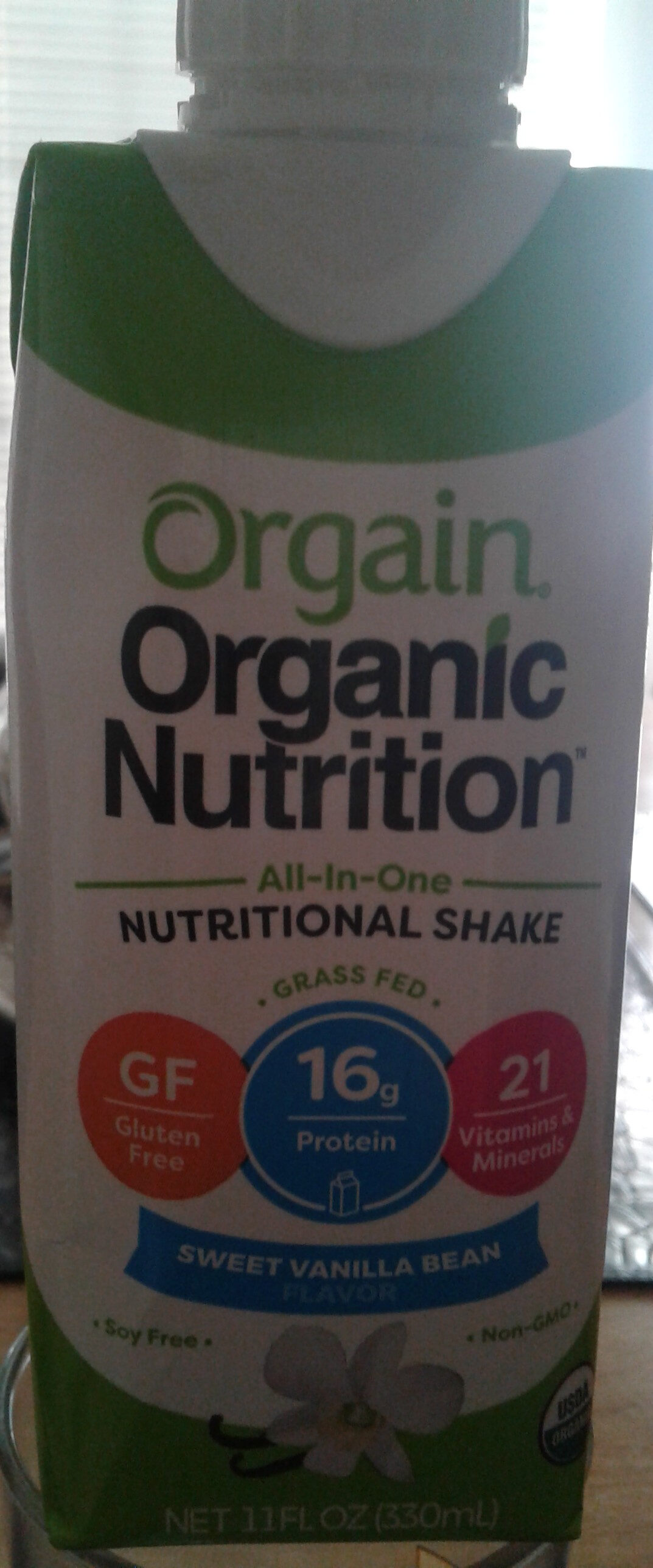 Orgain Organic Nutrition - Product