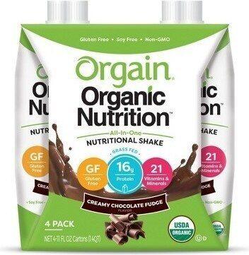 Organic nutritional shake - Product - en