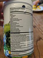 Juice - Ingrédients - en