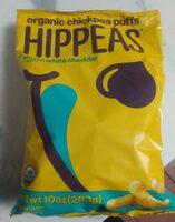 Hippeas Vegan White Cheddar Organic Chickpea Snacks - Product - en