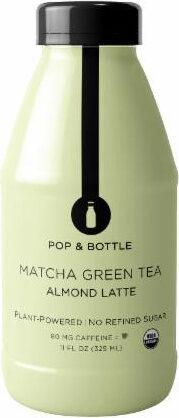 Bottle matcha green tea almond latte - Product - en