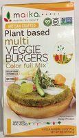 Maika, Color Full Mix Multi Veggie Burgers - Producto - es