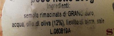 Pane Guttiau - Ingredientes - it