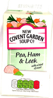 Pea, Ham & Leek Soup with a hint of mint - Product