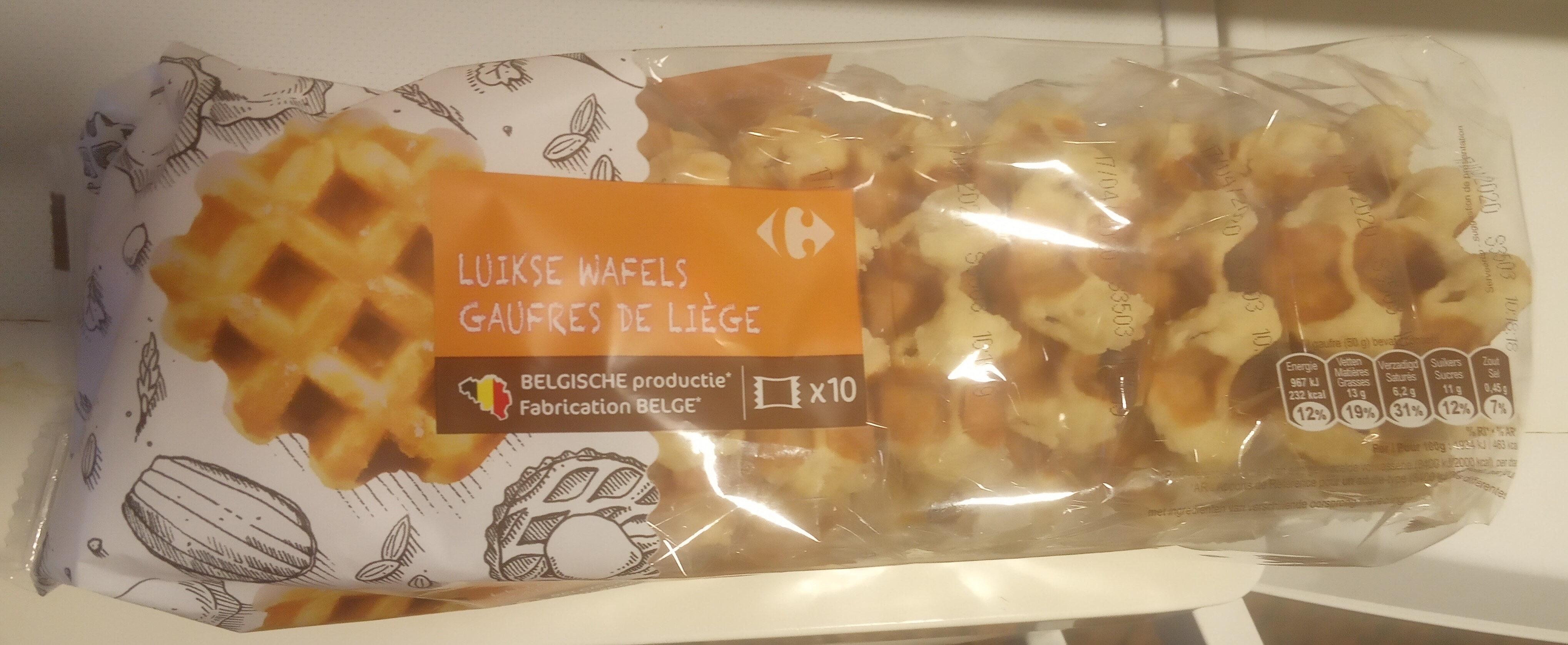 Luikse Wafels - Produkt - nl
