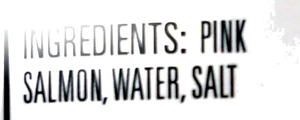 Skinless & Boneless Pink Salmon - Ingrédients - en