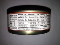 Skinless & Boneless Pink Salmon - Informations nutritionnelles - en