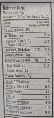 5 Chili Bullet - Informations nutritionnelles - en