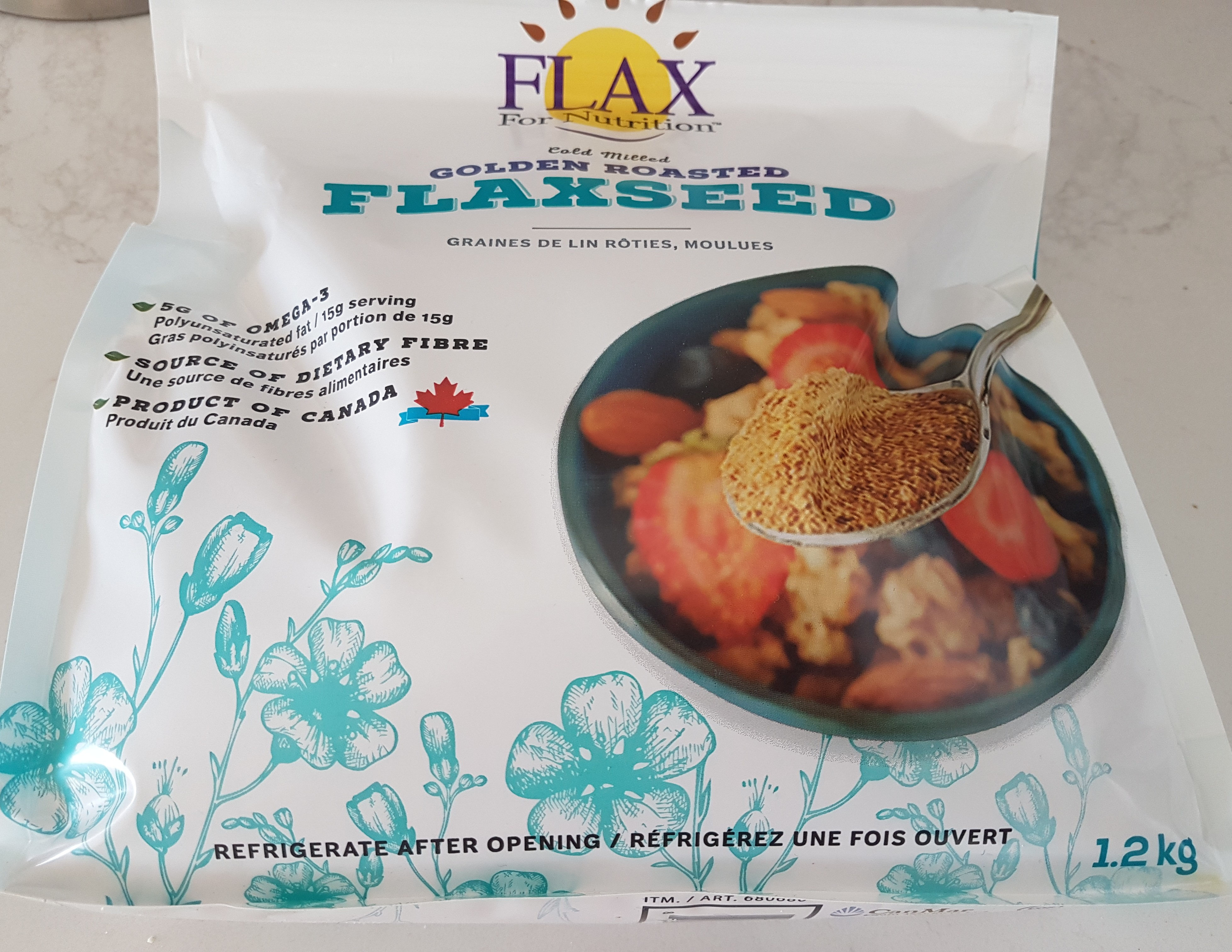 Golden Roasted flaxseed - Product - en