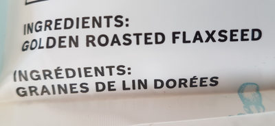 Golden Roasted flaxseed - Ingredients - en
