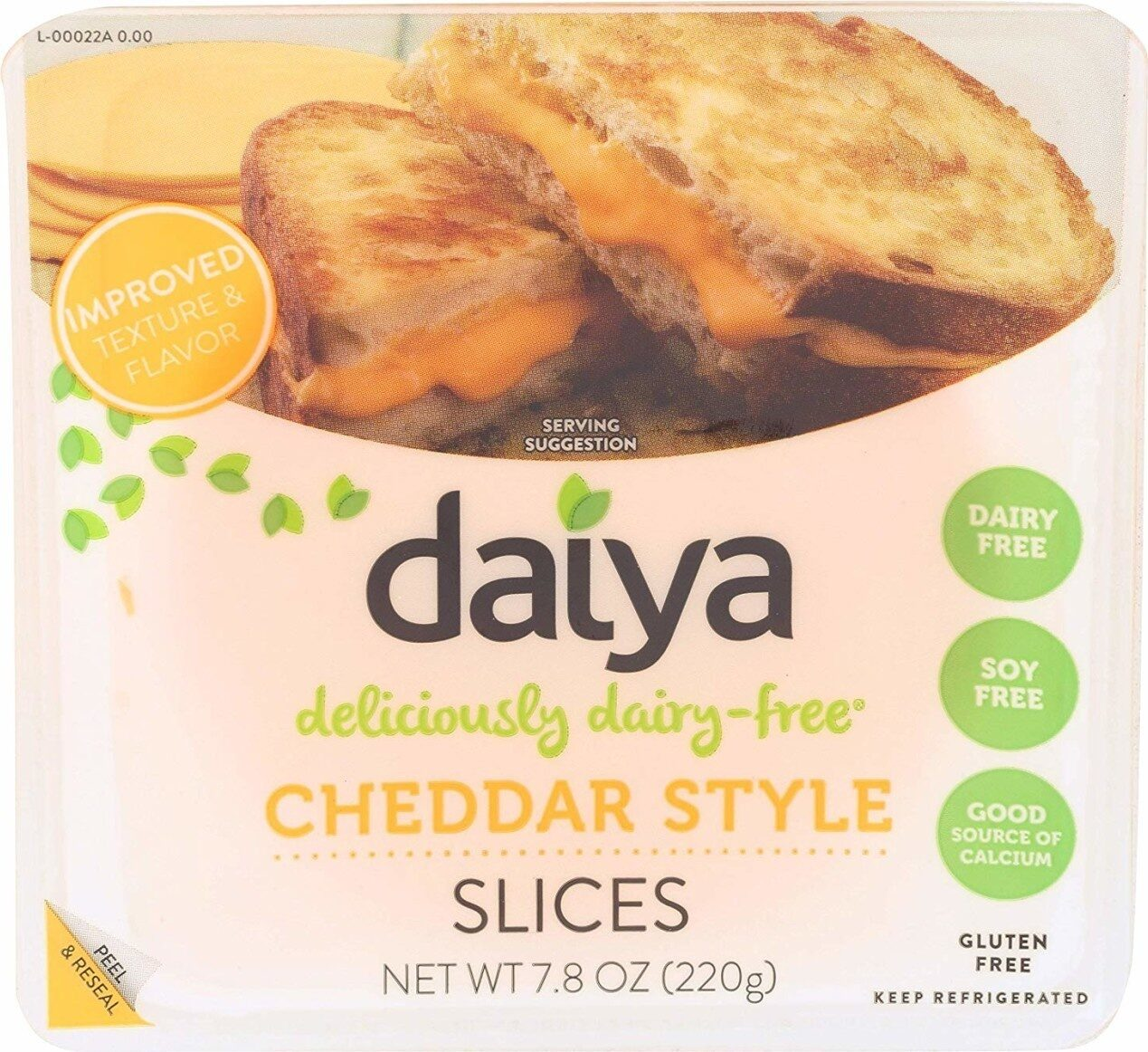 Diary free cheese - Product - en