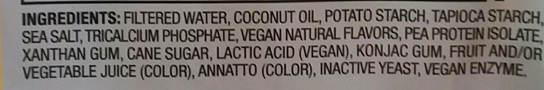 American style slices - Ingredients - en