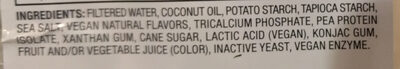 Smoked Gouda Style Slices - Ingredients - en
