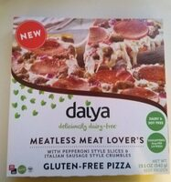 Meatless meat lover's gluten-free pizza, meatless meat lover's - Product - en