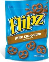 Milk chocolate covered pretzels - Prodotto - en