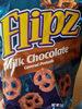 Milk chocolate covered pretzels - Produit