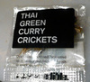 Thai green curry crickets - Product