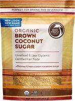 Brown Coconut sugar - Product - en