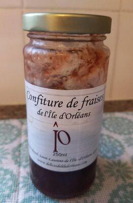 Confiture de fraises de l'Île d'Orléans - Product - fr