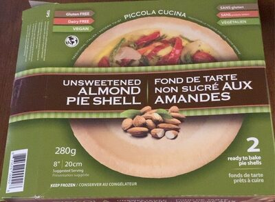 Almond pie shell - Product - fr